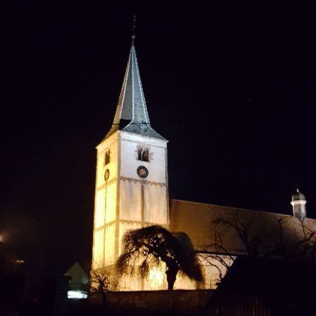 Eglise la nuit