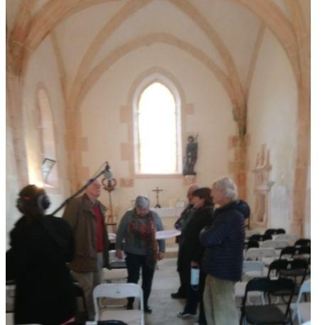 France Bleu Auxerre à la Chapelle du Beugnon.jpg
