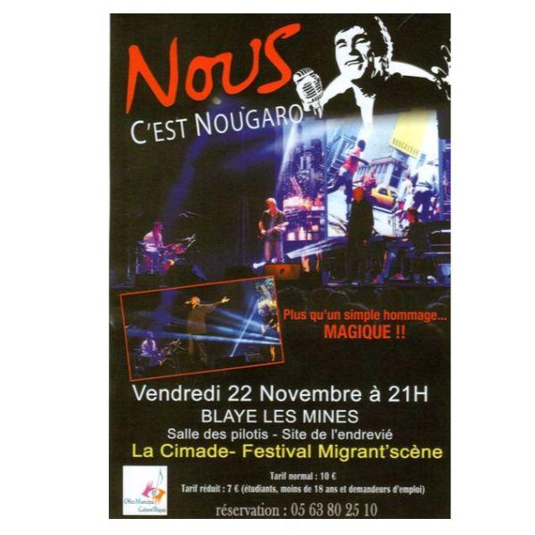 """""""Nous, c'est Nougaro"""""""