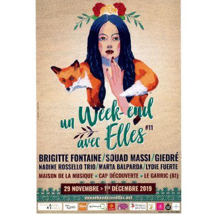 Un Week-end avec Elles festival à la Maison de la Musique