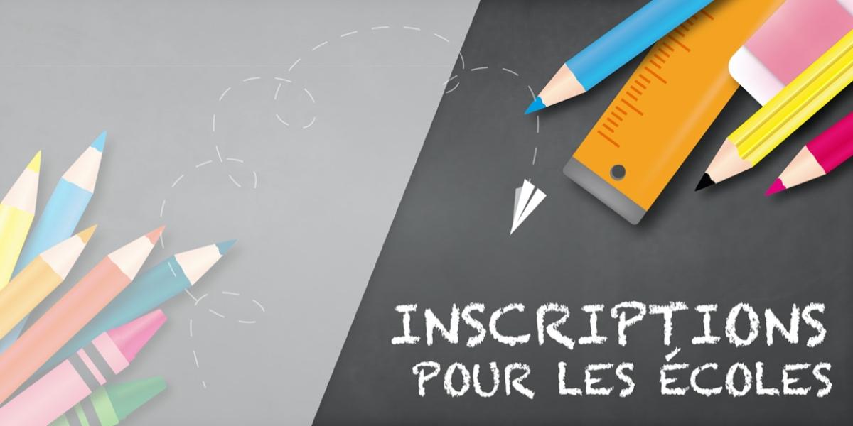 Inscriptions Ecole