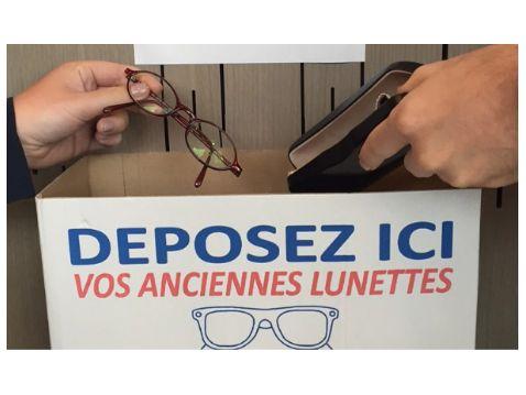 Recyclez vos anciennes lunettes !