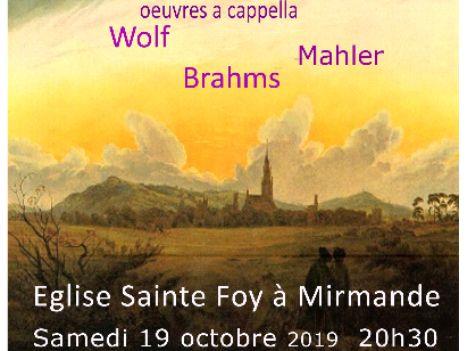 Ensemble vocal à Sainte Foy
