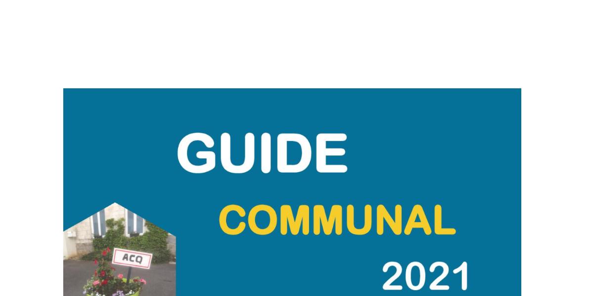 Guide communal 2021