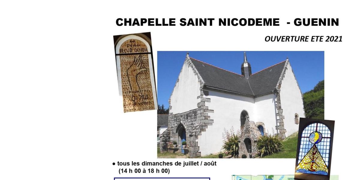 Ouverture estivale de la Chapelle St Nicodème