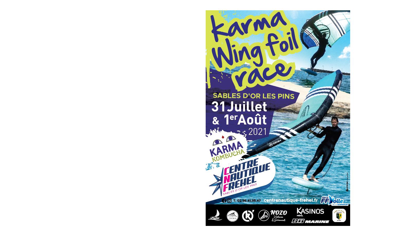 Karma wingfoil race