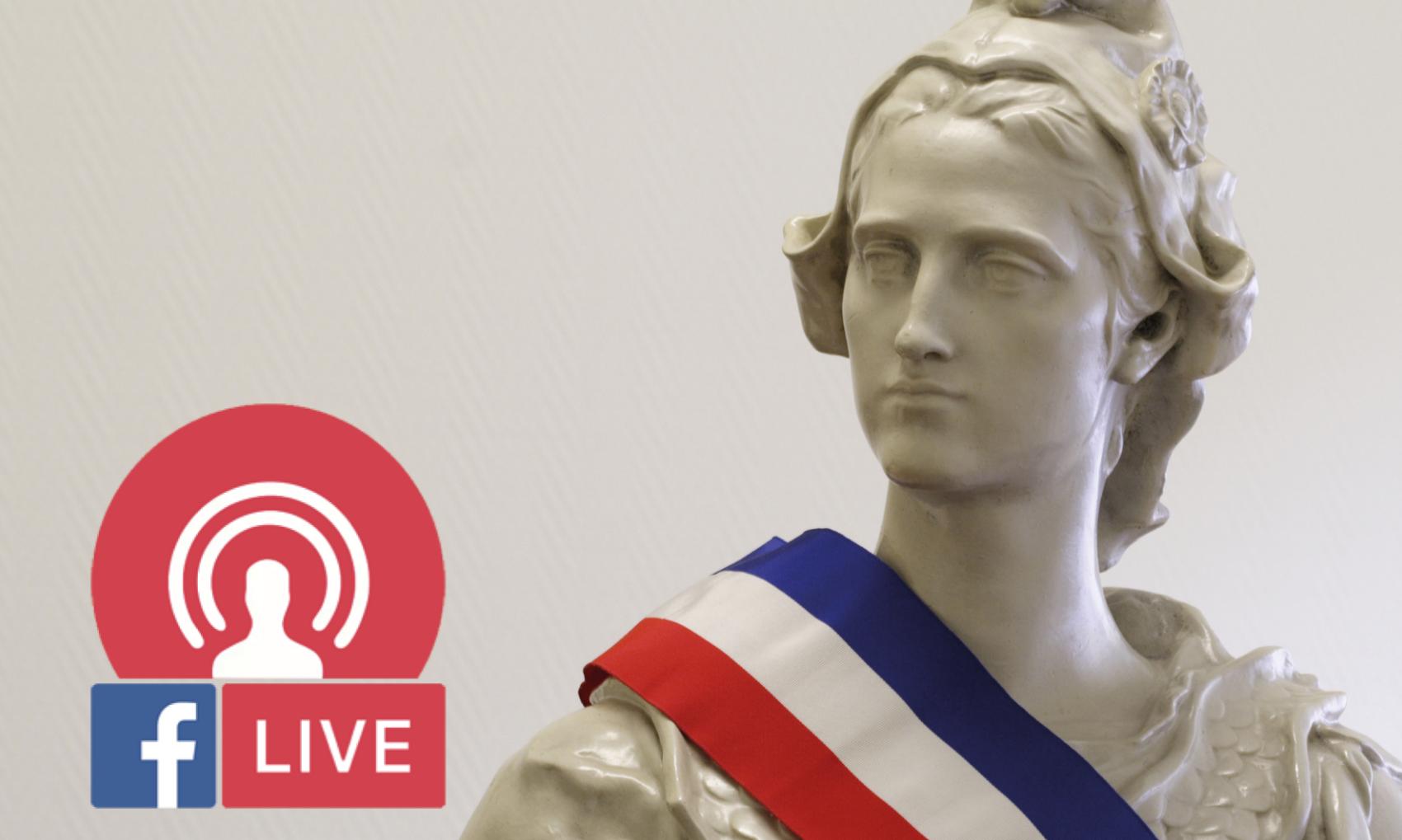 CONSEIL MUNICIPAL en direct (facebook live)