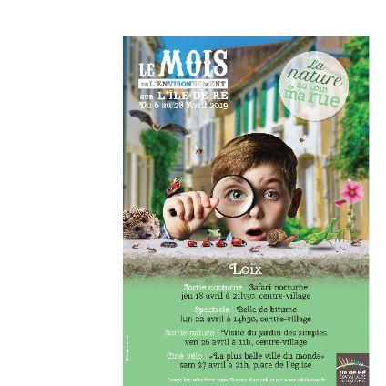 LE MOIS DE L'ENVIRONNEMENT - UNE NATURE XXL