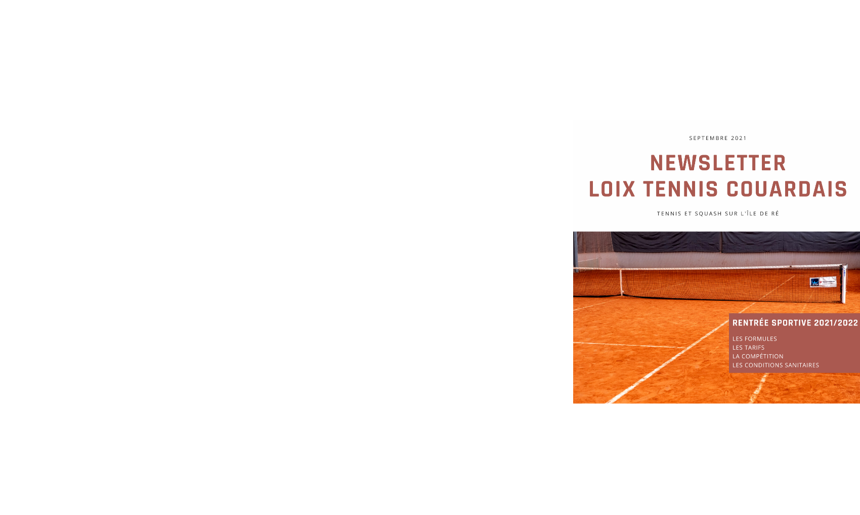 Loix Tennis Couardais