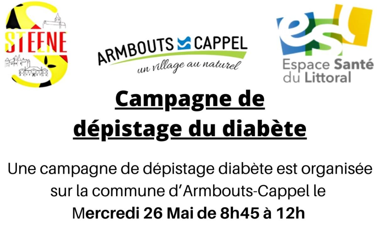 Campagne de dépistage du diabète