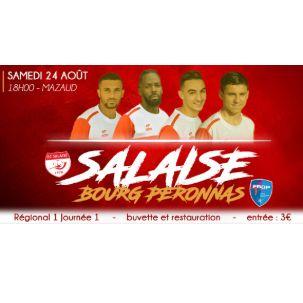 Le FC Salaise reçoit la réserve du FBBP01