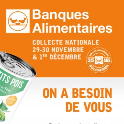 Collecte annuelle de la Banque Alimentaire de l'Isère
