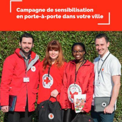 Campagne porte à porte Croix Rouge
