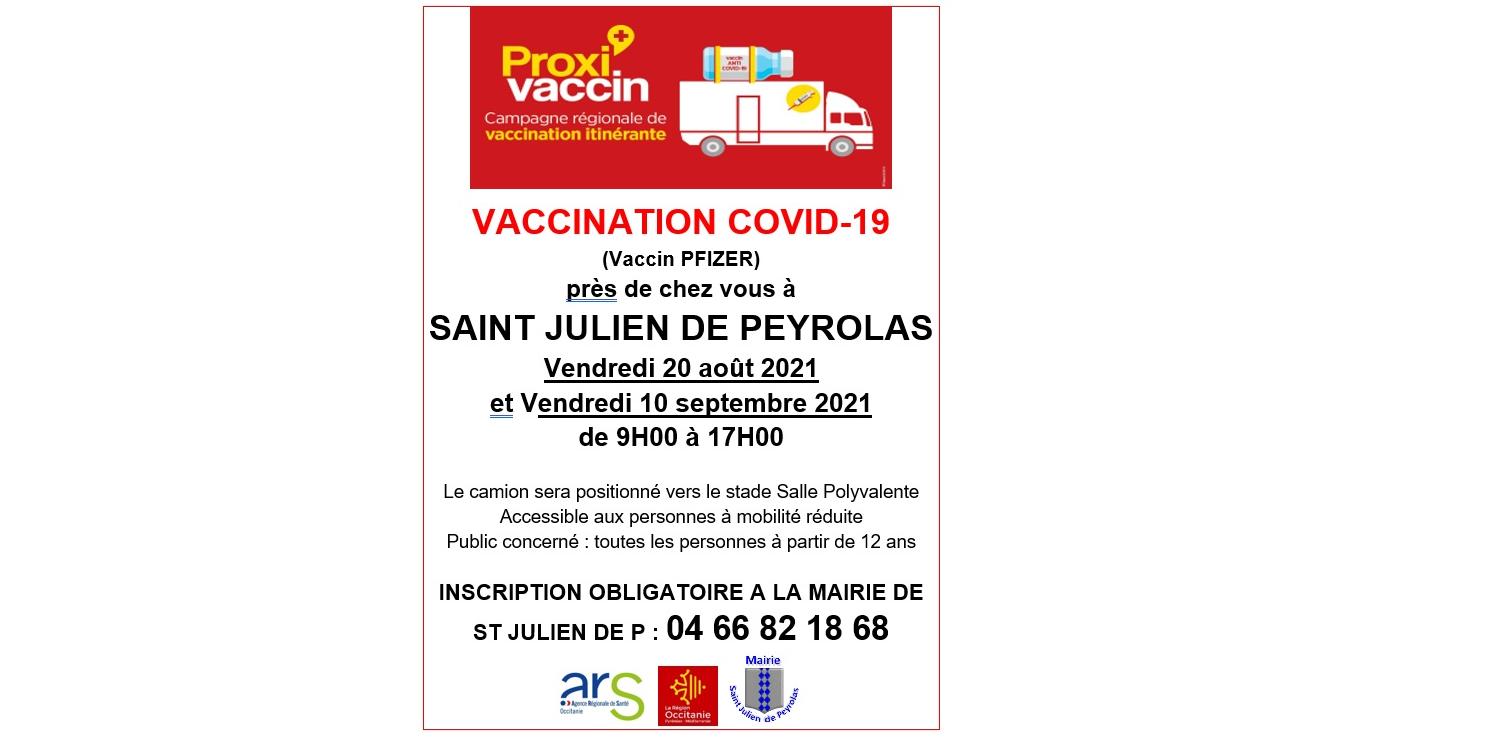 Vaccination près de chez vous