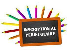 Inscriptions périscolaire - Affiche