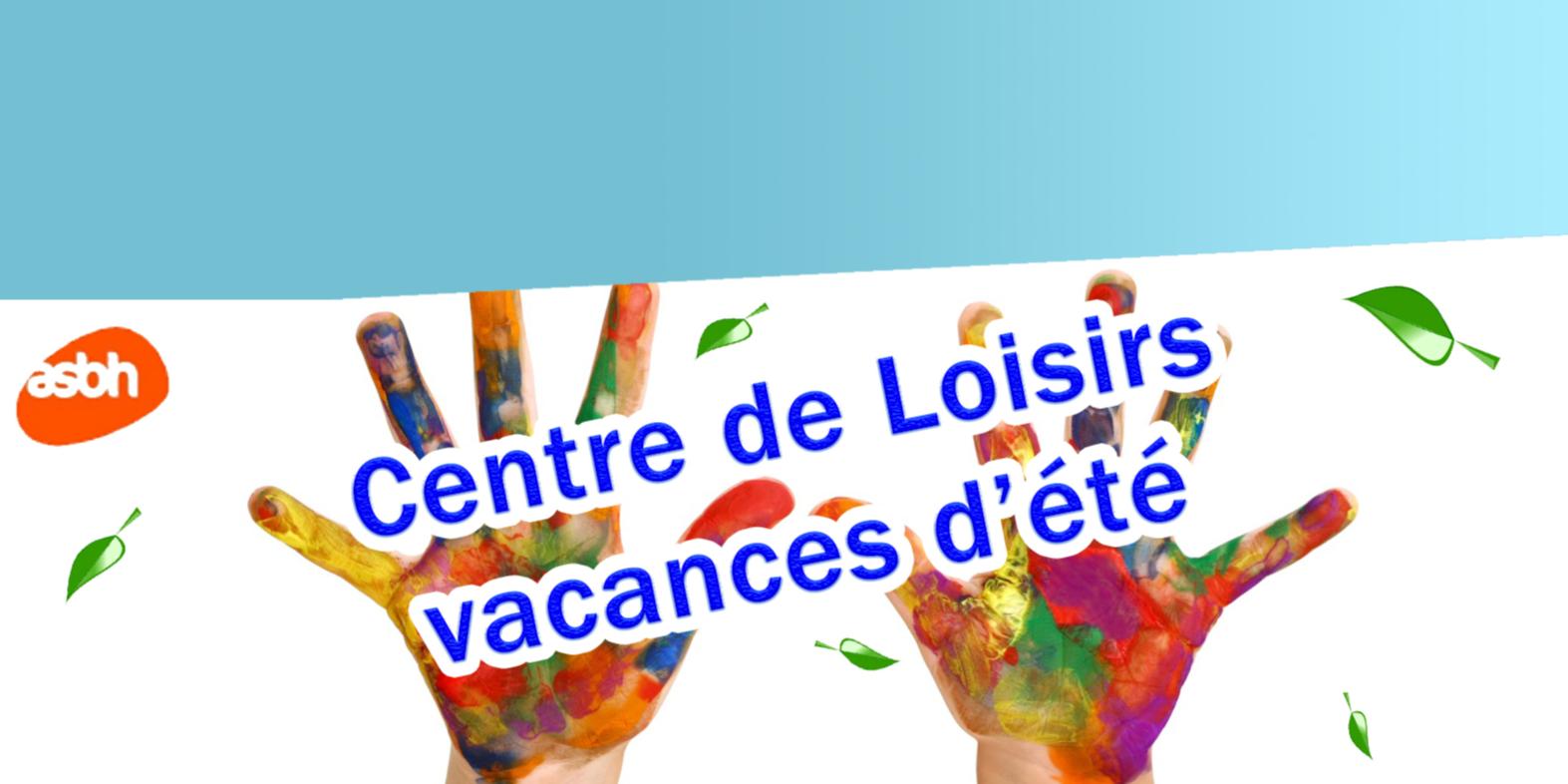 Centre de Loisirs - Vacances d'été (pour les 3 - 5 ans)