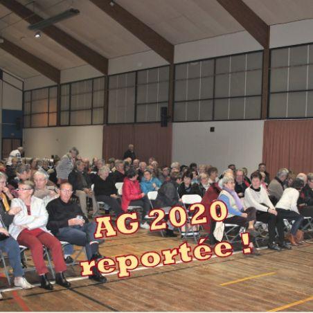 Coronavirus AG 2020 reportée