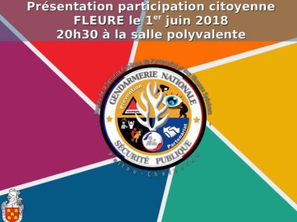 Flyer participation citoyenne juin 2018