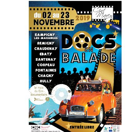 Docs en balade 2019 - Séance du 20 novembre 2019