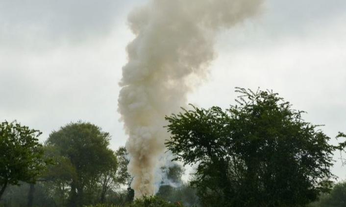 Rappel: le brûlage de déchêts verts est interdit toute l'année!