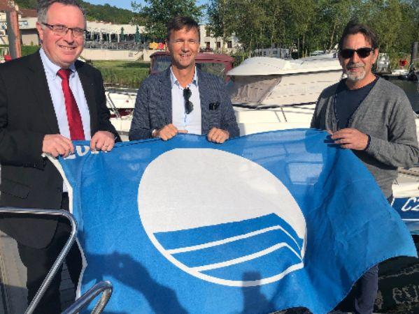 Le port de plaisance Michel Roth pavillon bleu 2019 !
