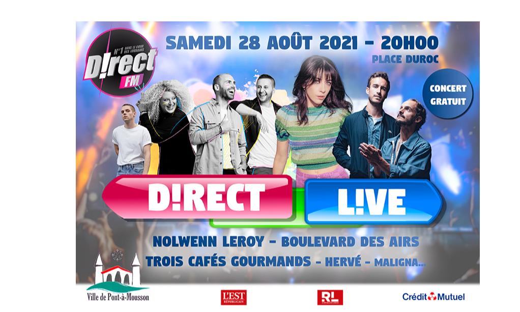 Concert Gratuit Direct FM!!!!