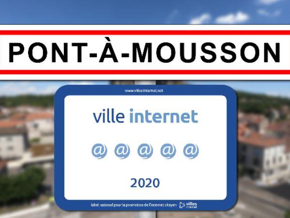 La Ville conserve ses 5@ au label Ville Internet !