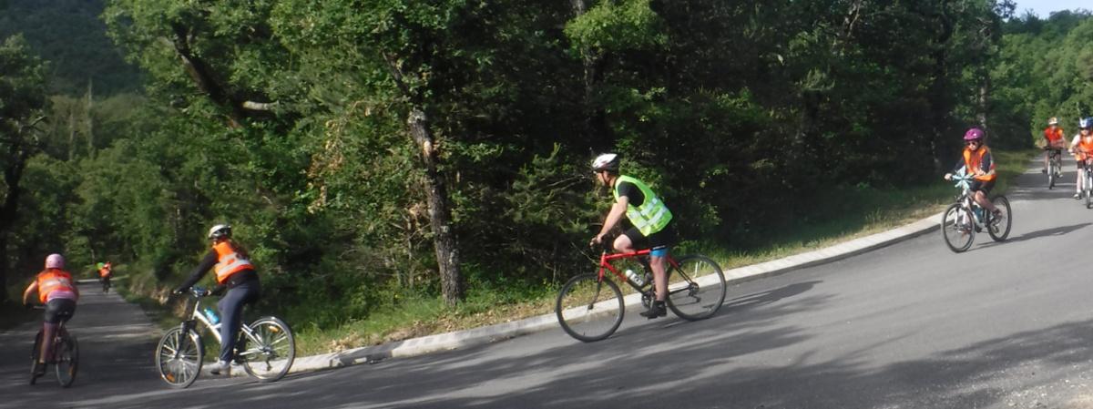 Traversée de la Drôme à Vélo 2020