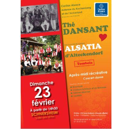 Caritas Alsace - Thé dansant à Schnersheim