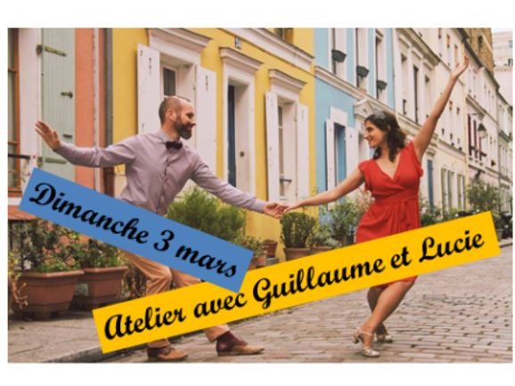 Atelier Swing avec Guillaume et Lucie de Paris