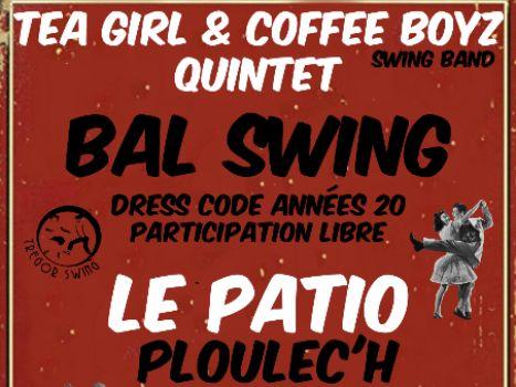 Concert dansant gratuit le 26/01 avec Tea Girl & Coffee BoyZ (Quintet Trégorrois)