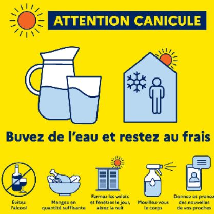 Information canicule 2