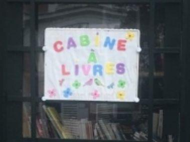 Cabine à livres